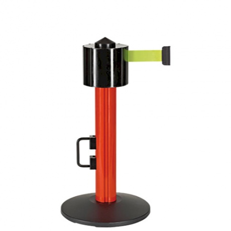 Beltrac StoreTrac Mini Retractable Belt Barrier Post - 12 Metres